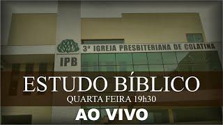 Estudo Bíblico - 26/08/2020