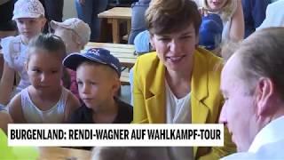 SPÖ: Rendi-Wagner auf Wahlkampftour im Burgenland