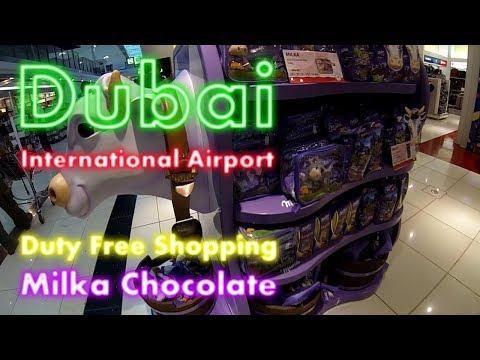 GoPro | Dubai International Airport | Milka Chocolate - The Famous Lila Cow | Flight EK29