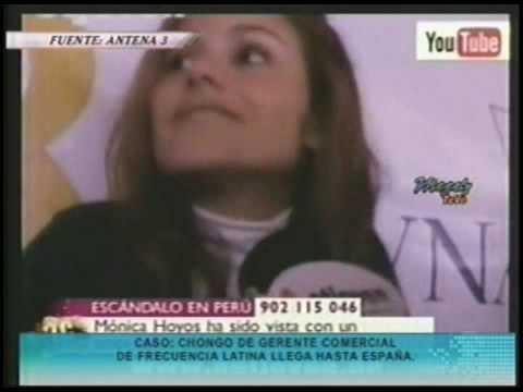 Monica Hoyos ampayada con Javier Carmona - Comentarios de Antena 3
