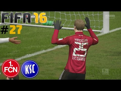 FIFA 16 KARRIERE [#27] ★ 1. FC Nürnberg vs. Karlsruher SC, 20. Spieltag ★ Let's Play FIFA 16