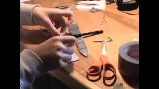 DIY Duct Tape Knife Sheath