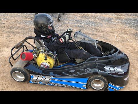 Oval Kart Practice- Paradise Speedway