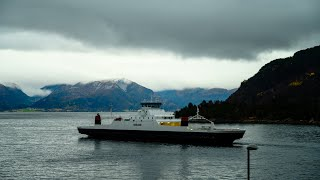 Timelapse in Lavik of the Sognefjord