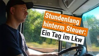 Michael (24) ist Lkw-Fahrer: So hart ist sein Job   Orange by Handelsblatt