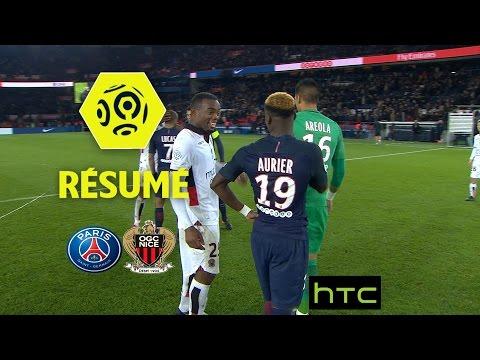 Paris Saint-Germain - OGC Nice (2-2)  - Résumé - (PARIS - OGCN) / 2016-17