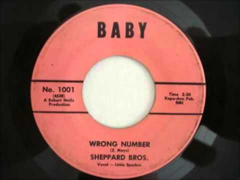 Sheppard Brothers .. Wrong Number.