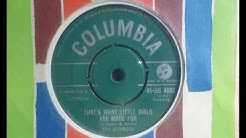 Pre Motown - THE SPINNERS - That's What Girls Are Made For - COLUMBIA DB 4693 USA Tri Phi Doowop