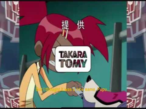 Transformers: Animated Japanese Ending Sketch: Optimus's Nickname (English Sub)