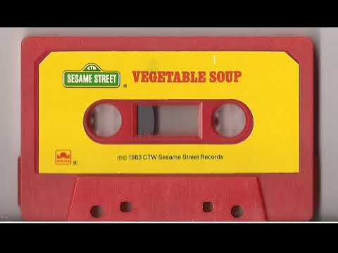 Sesame Street Vegetable Soup Cassette Tape Mp3