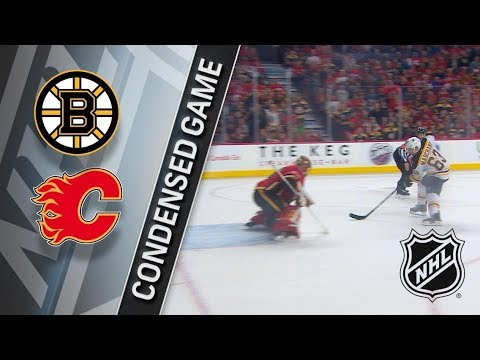 Boston Bruins vs Calgary Flames – Feb. 19, 2018 | Game Highlights | NHL 2017/18. Обзор