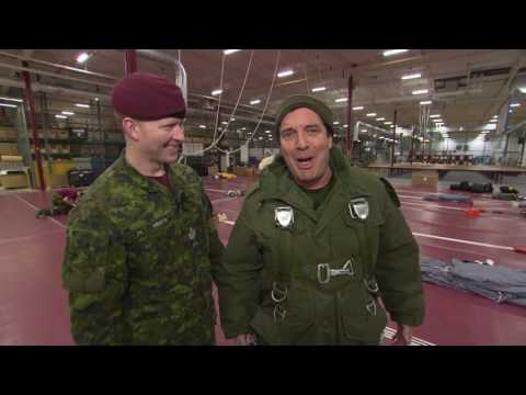 Rick and Cadet Parachute Training