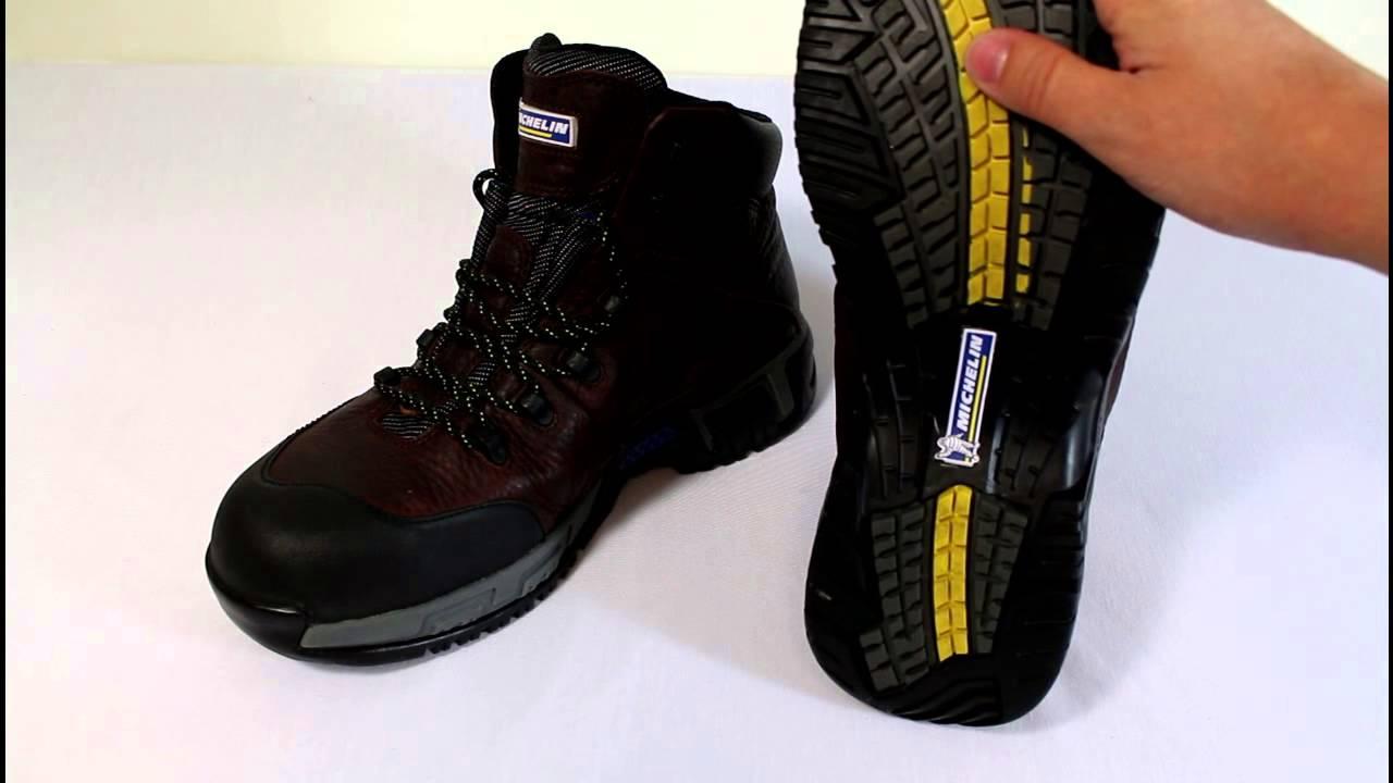 1dbf9423231ef4 Review: Michelin Men's Hydroedge Steel Toe Boots - YouTube