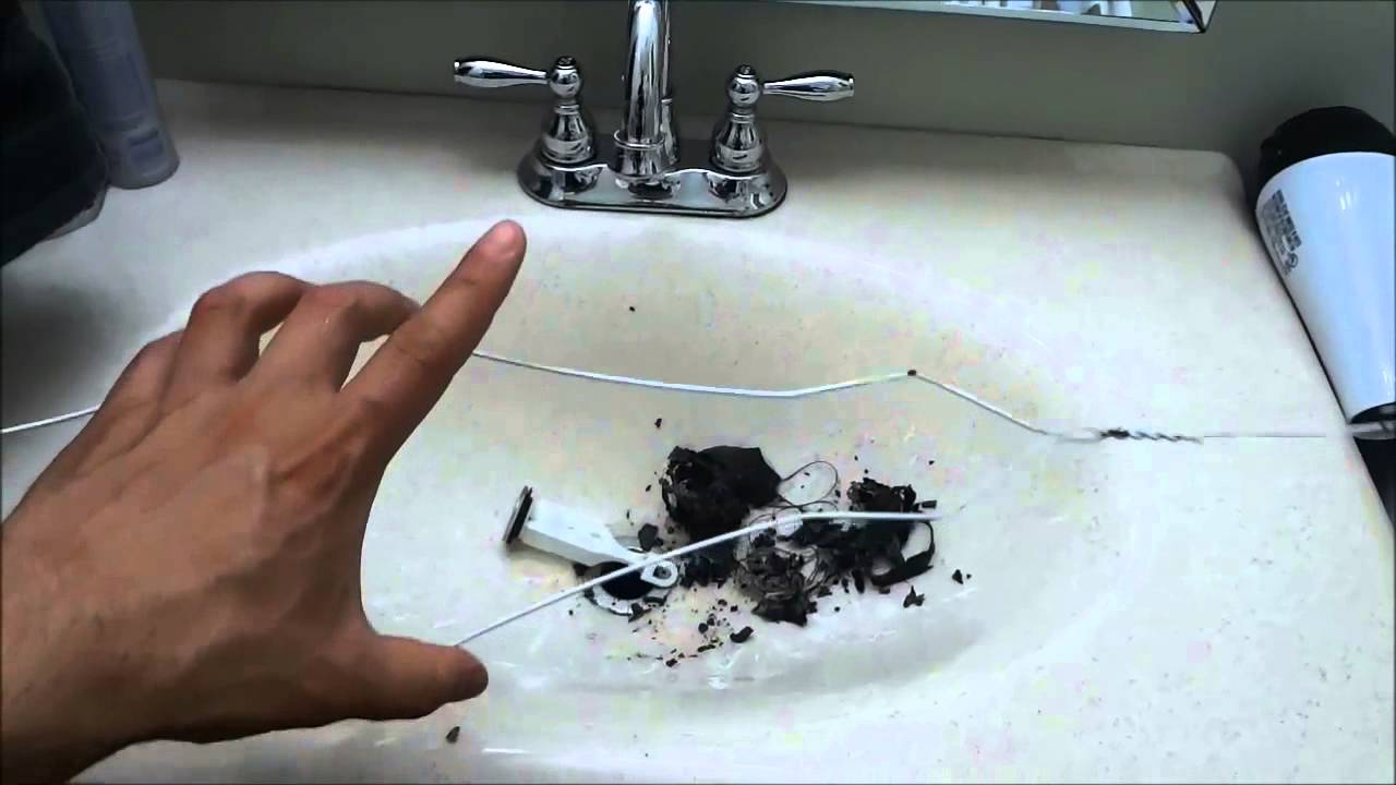 how to unclog a bathroom sink cleaning the stopper