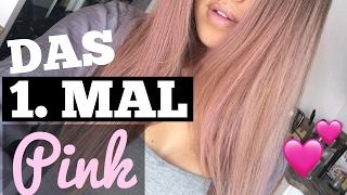 EXPERIMENT: Haare PINK & LILA färben mit Jodie! | Shanti Tan
