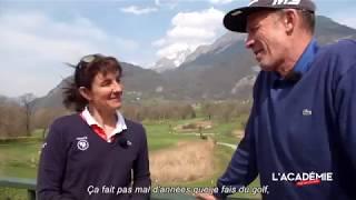 Golf avec les Stars : Florence Masnada
