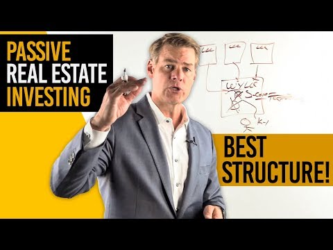 Passive Real Estate Investing... Best STRUCTURE? (250K Tax Facts!)