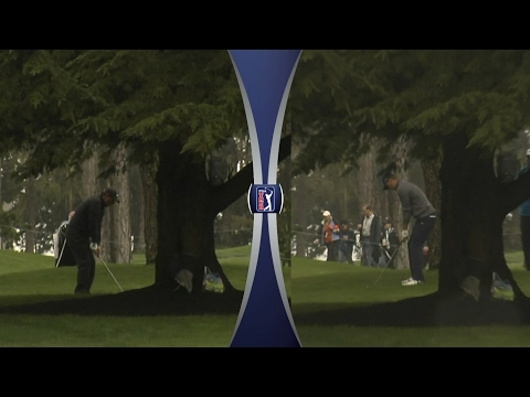 Jordan Spieth bends it like Phil Mickelson at AT&T Pebble Beach