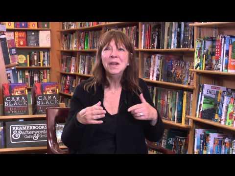 Bestselling author Cara Black talks about KramerBooks & Afterwords Cafe