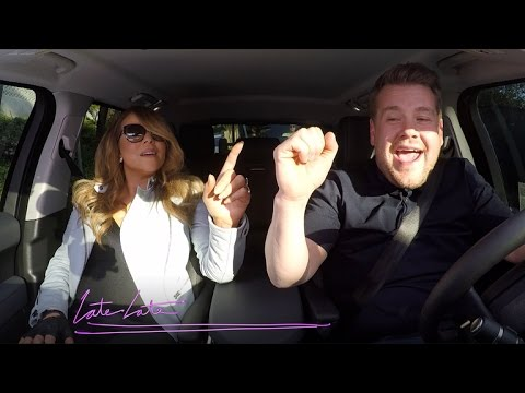 Mariah Carey Carpool Karaoke video
