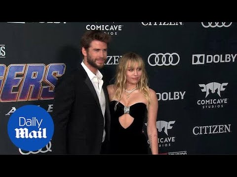 Miley Cyrus Looks Stunning At Avengers: Endgame Premiere