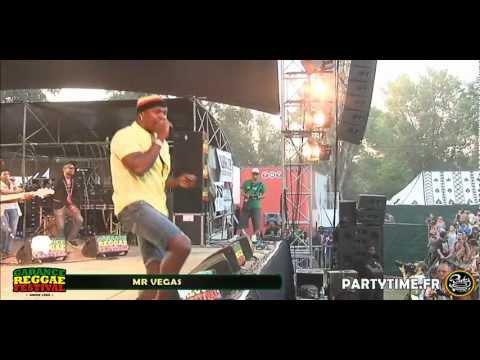 MR VEGAS - LIVE at Garance Reggae Festival 2012 HD by Partytime.fr