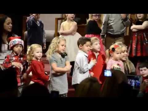 Preschool Christmas Program - Baby Jesus Song