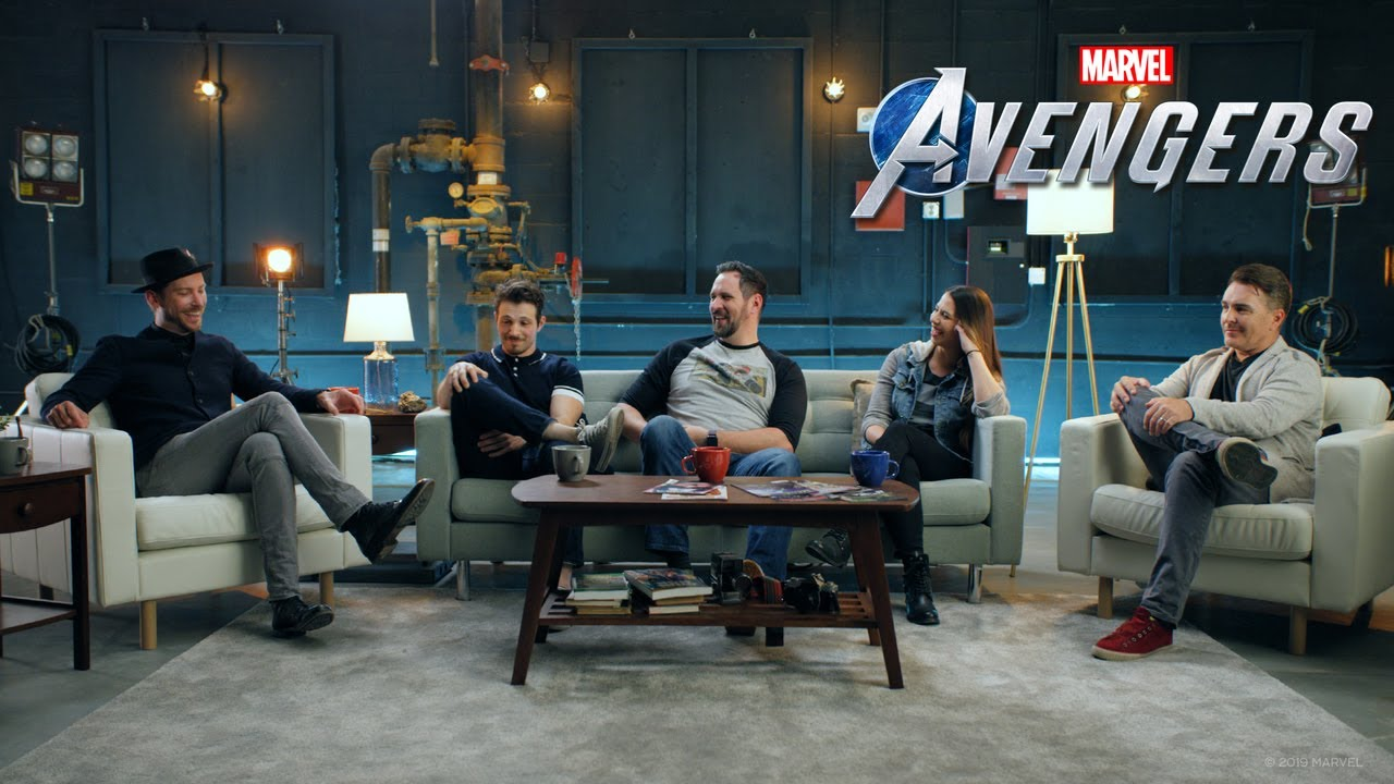 Marvel's Avengers  Cast Reveal   E3 2019