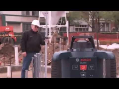 Видео обзор: Нивелир лазерный BOSCH GRL 250 HV