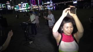 피서객들과의디스코-전자오르간(온동네색소폰동호회)