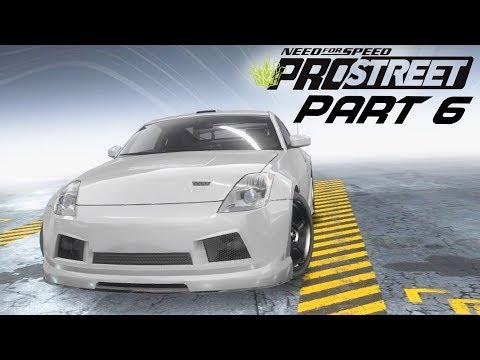 Need for Speed Prostreet Gameplay Walkthrough Part 6 - FIRST DRIFT EVENT & 350Z