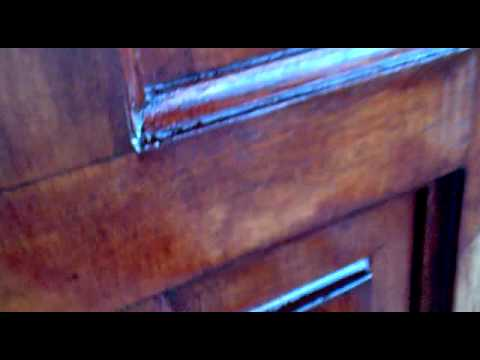PAINT AND VARNISH STRIPPING FRONT DOOR PART 2