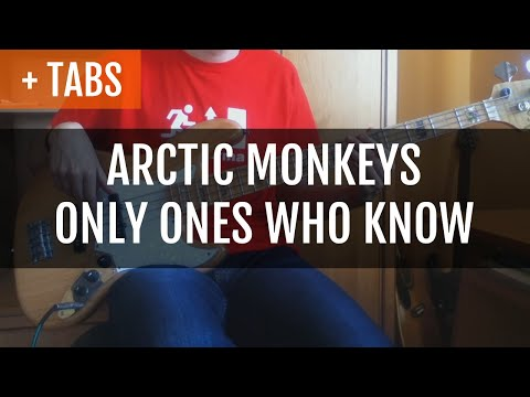 Arctic Monkeys - Only Ones Who Know (Bass Cover With TABS! And Cat!)