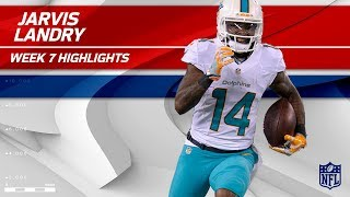 Jarvis Landry Highlights   Jets vs. Dolphins   Wk 7 Player Highlights