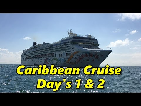 Caribbean Cruise Vacation Days 1 & 2 (New Orleans & Ship)