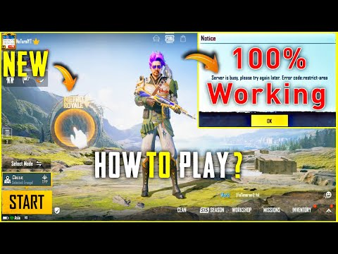 PUBG NEW UPDATE 1.1    HOW TO PLAY   HOW TO DOWNLOAD