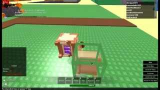 magic cube glitch and others in sandbox (server 1) ON roblox 2013