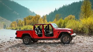 Jeep rolls out Gladiator pickup truck at New York International Auto Show