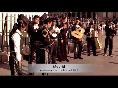 MEXICANS In Madrid! Enjoy their music.