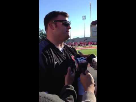 Interview with Big Red Head Coach David Archer