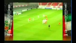 2005 (May 24) Peru 0-United Arab Emirates 0 (Kirin Cup) (Re-upload).avi