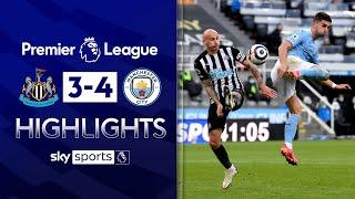 Ferran Torres hits hat-trick in SEVEN goal thriller! | Newcastle 3-4 Man City | EPL Highlights