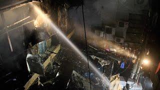 Sadar Bazar: Slums blazed in heavy fire  Oneindia News