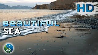 КРАСИВОЕ ВИДЕО !! Море, прибой, морской бриз, волны, музыка, природа, шум, звук, волн, релакс,