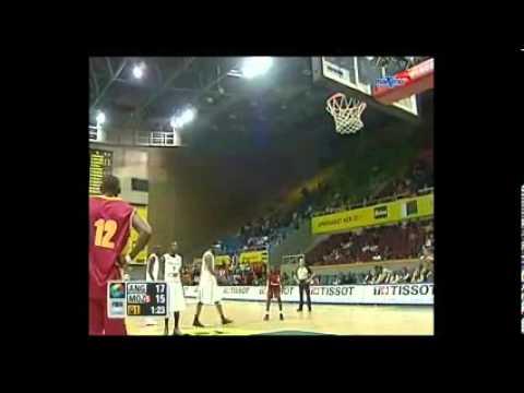 Mozambique vs Angola. 1rst Quarter P3