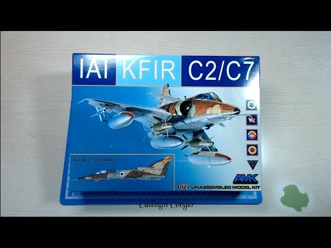 AMK 1/72 IAI Kfir C2/C7 Preview (Avantgarde Model Kits 이스라엘 크필 프리뷰)