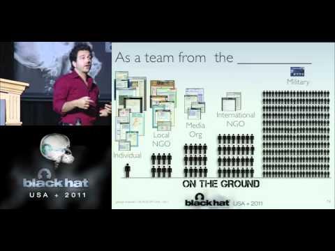 BlackHat 2011 - Securing Crisis Maps in Libya, Sudan and Pakistan