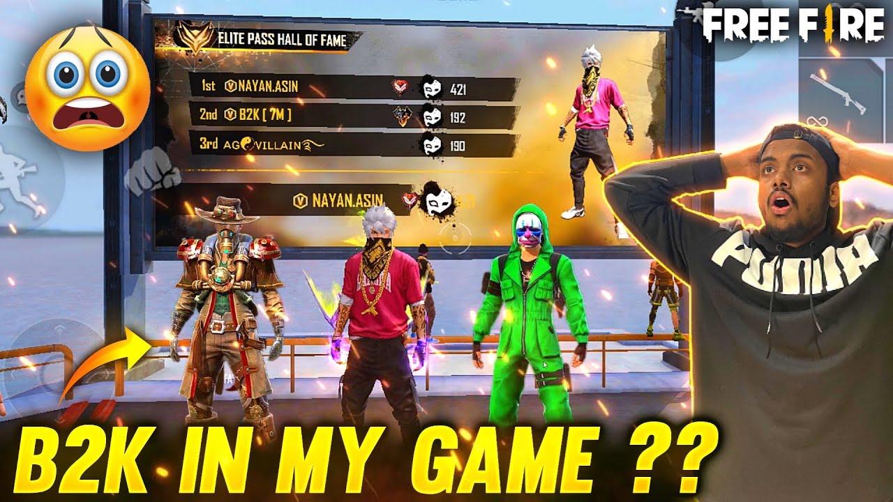 B2K & Green Criminal Vs NayanAsin Pro Rank Lobby Live Stream Reaction 😱 - Garena Free Fire