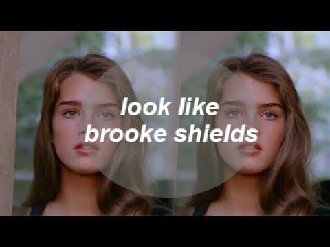 how to look like brooke shields