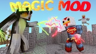 Minecraft | ULTIMATE MAGIC MOD Showcase (MAGIC MOD, WANDS MOD, ROBES MOD)